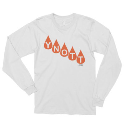 YNOTT Long Sleeve T-Shirt (Light Colors)